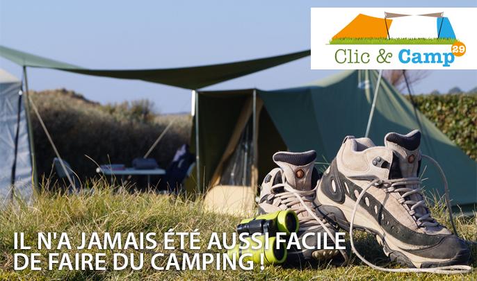 clic & campIl n'a jamais été aussi facile de faire du camping !