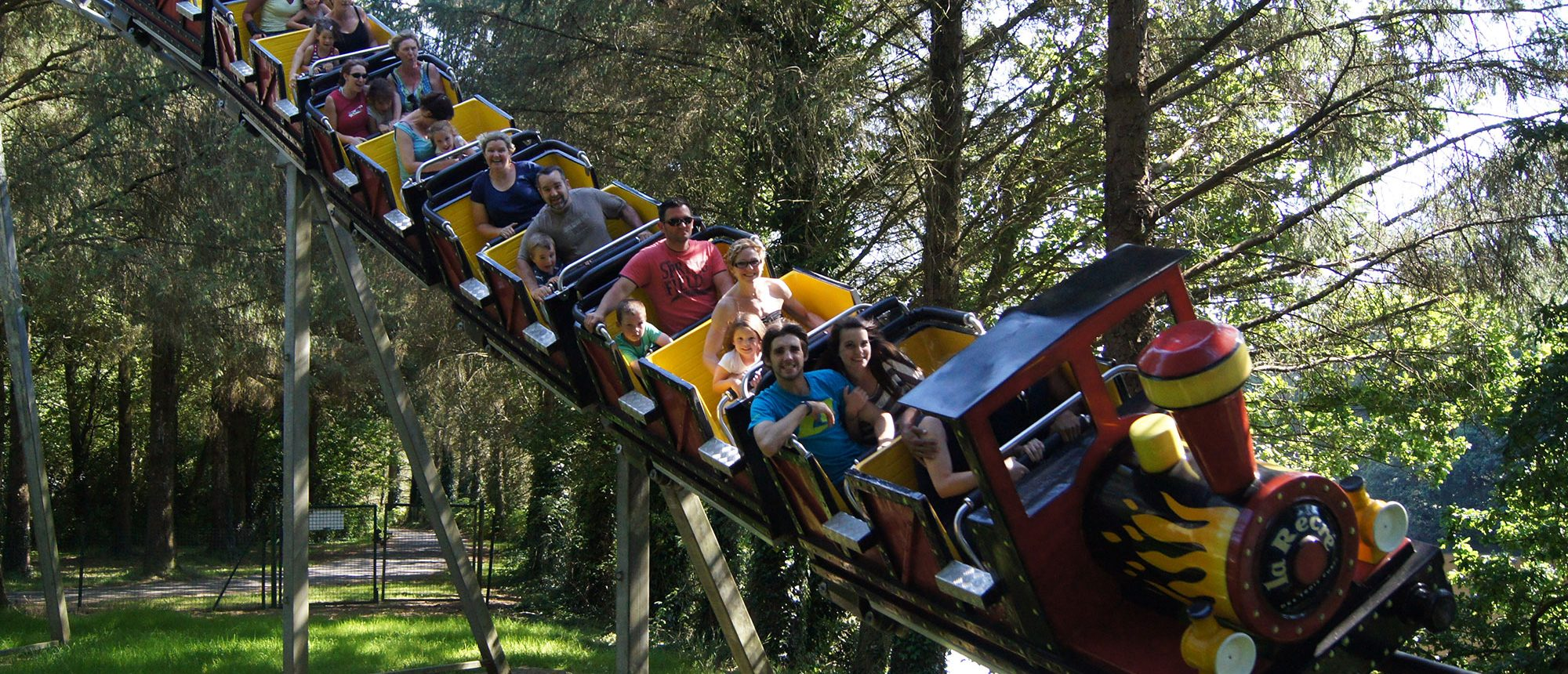 Parc d'attraction en Bretagne La récré