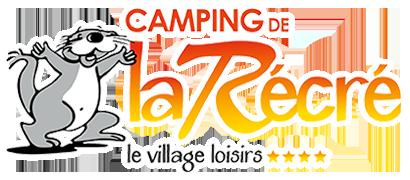 Logo Camping de la Récré - le village loisirs 4 étoiles