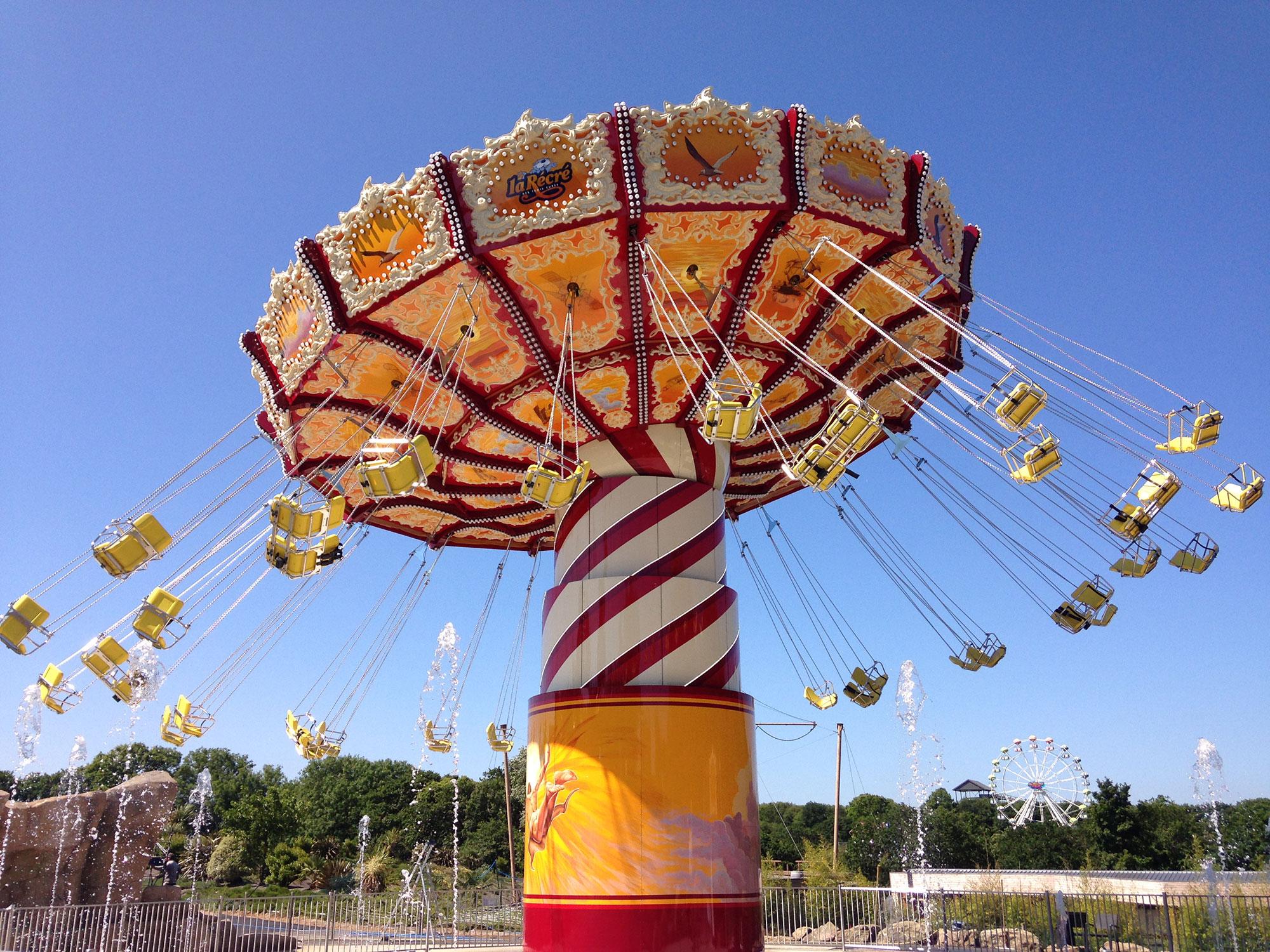 Parc d'attraction en Bretagne La récré : Rêve d'Icare
