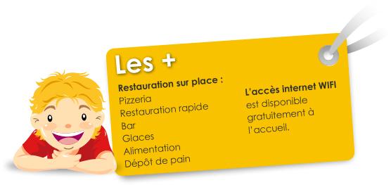 Liste des services au camping en Bretagne